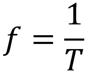 Formel der Frequenz
