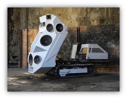 Soundmaschinenausstellung