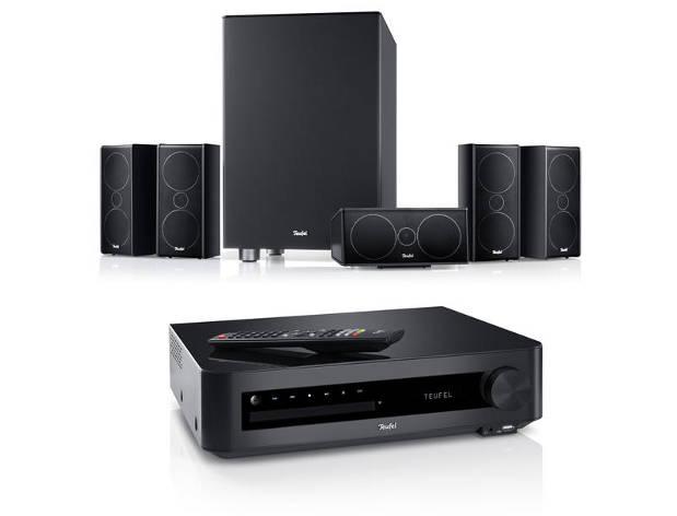 Impaq 7000: 5.1 Analge mit Audio HiFi Verstärker