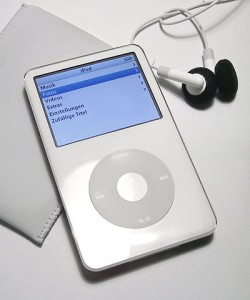 iPod 5 in weiß