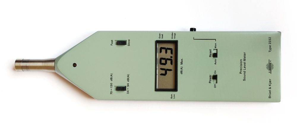 Dezibel-Messgerät der Firma Brüel & Kjær