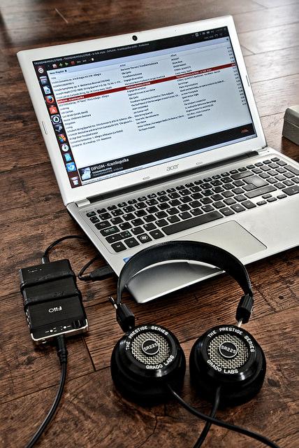 Headphones and Dac