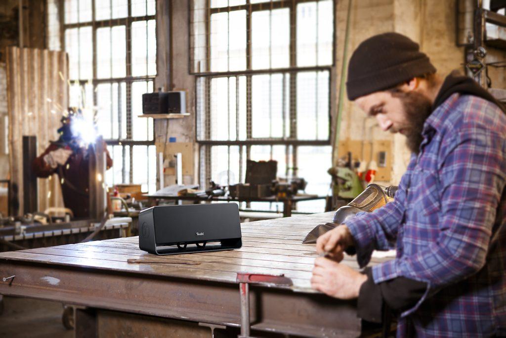Boomster kabellose Lautsprecher mit Bluetooth