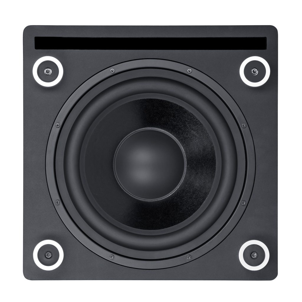 Many Teufel subwoofers use downfiring woofers