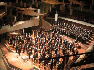 Deckensegel der Berliner Philharmonie
