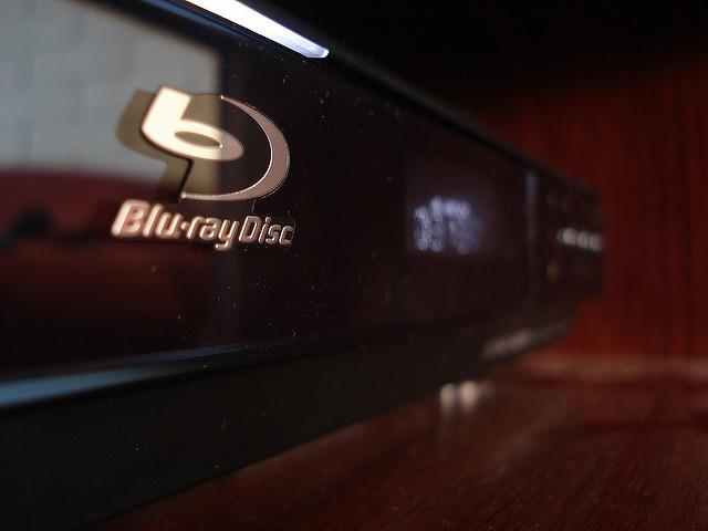 Blu-ray Player in Nahaufnahme