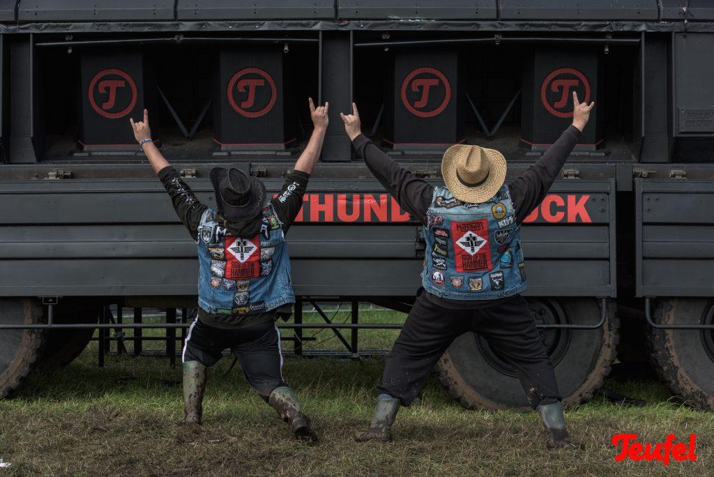 Teufel Thundertruck von Festival zu Festival