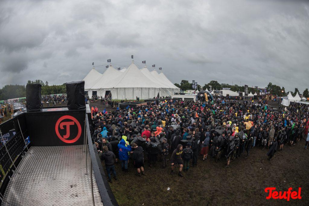 Einsatz auf dem Wacken-Festival
