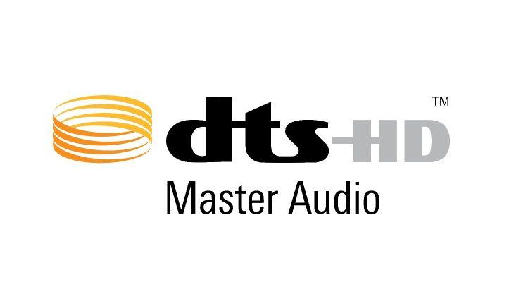 logo von dts hd master audio