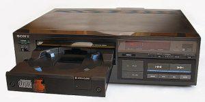 Einer der ersten CD-Player