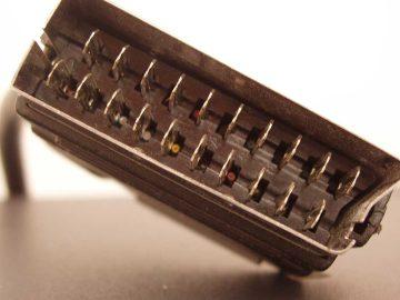 SCART Stecker