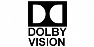 Das Logo des Video-Formats Dolby-Vision