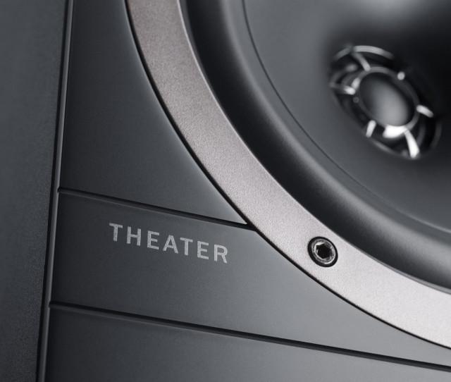 Nahaufnahme des Passiv-Lautsprechers Theater 500S