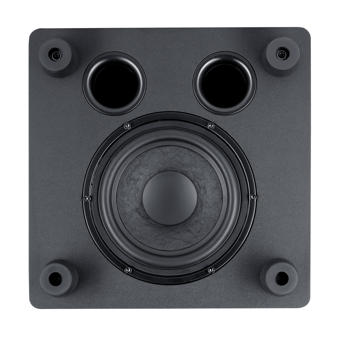 down-firing subwoofer
