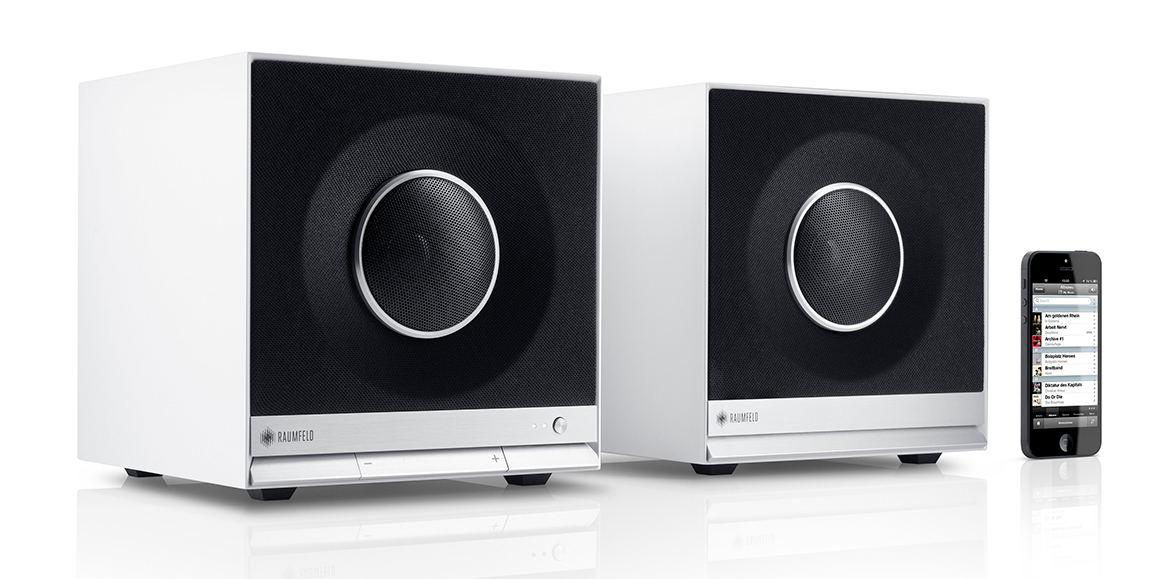Raumfeld stereo cubes with Chromecast built-in