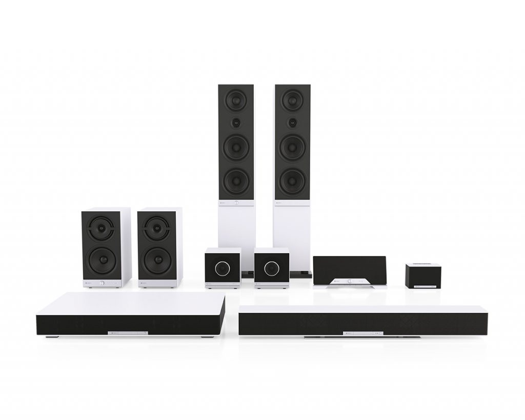 The Raumfeld streaming system