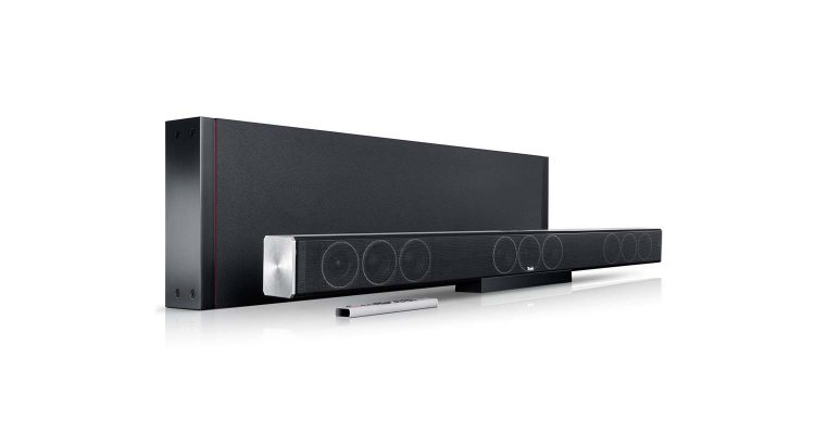 Soundbar with subwoofer