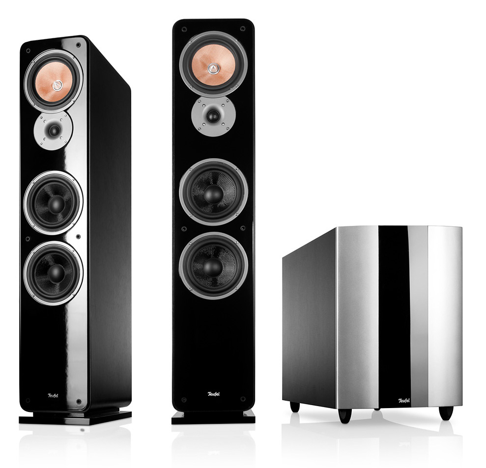 Ultima 40 tower speakers with subwoofer