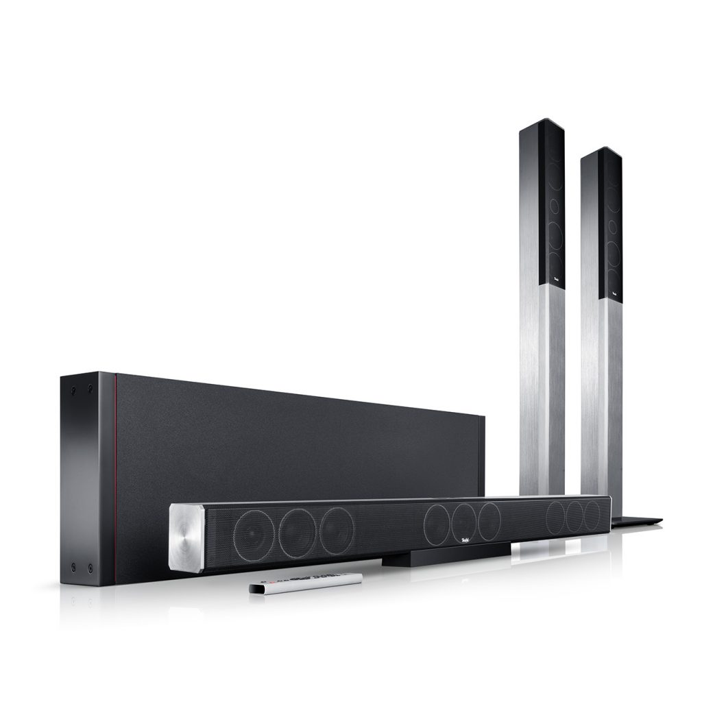 Cinebar Trios 5.1 Soundbar mt Subwoofer
