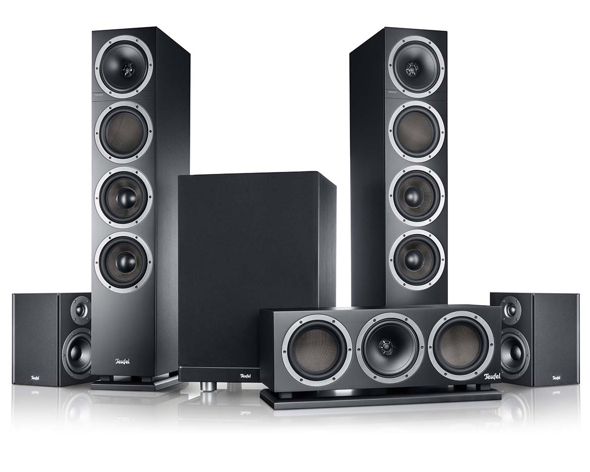 Theater 500 surround sound speakers