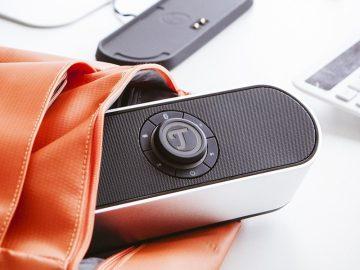 Als Laptop-Lautsprecher ist der Bamster Pro durch Bluetooth 4.0 aptx sehr gut geeignet