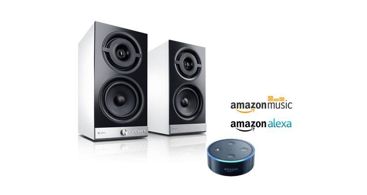 Amazon Music hören auf Raumfeld mit Echo Dot