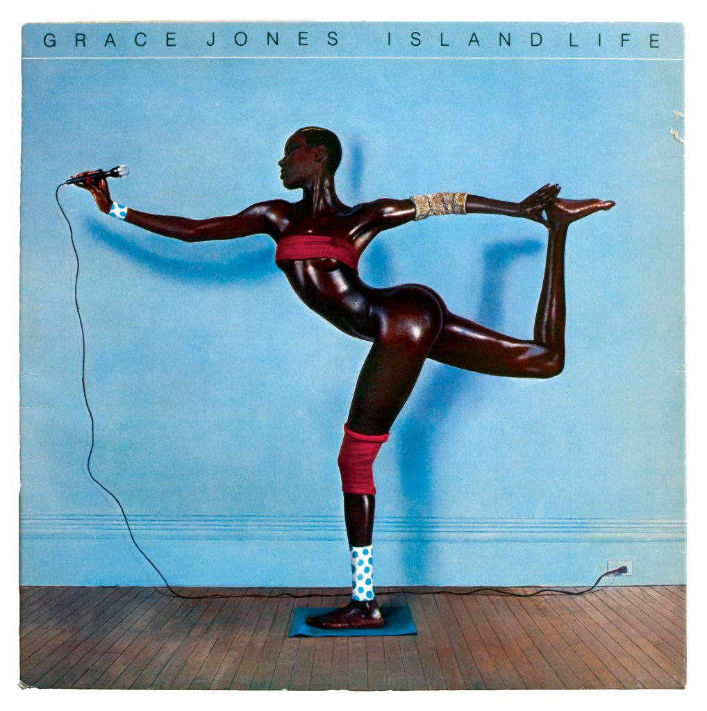 Grace Jones album art