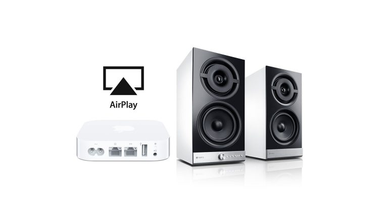 Teufel Raumfeld mit AirPort Express und Apple Music