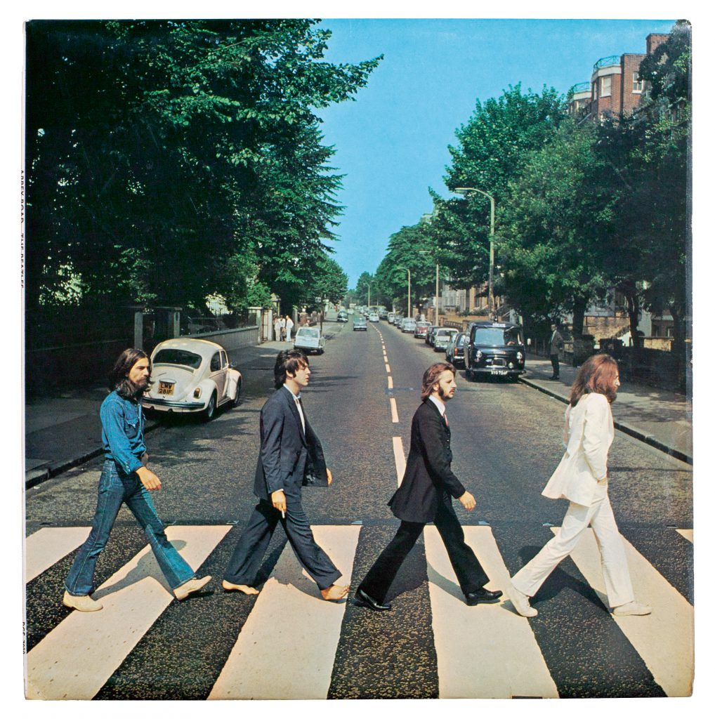 The Beatles album art