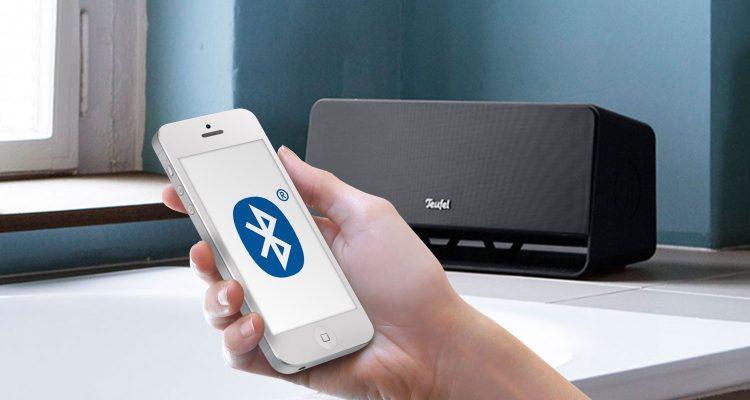 Bluetooth Lautsprecher Boomster