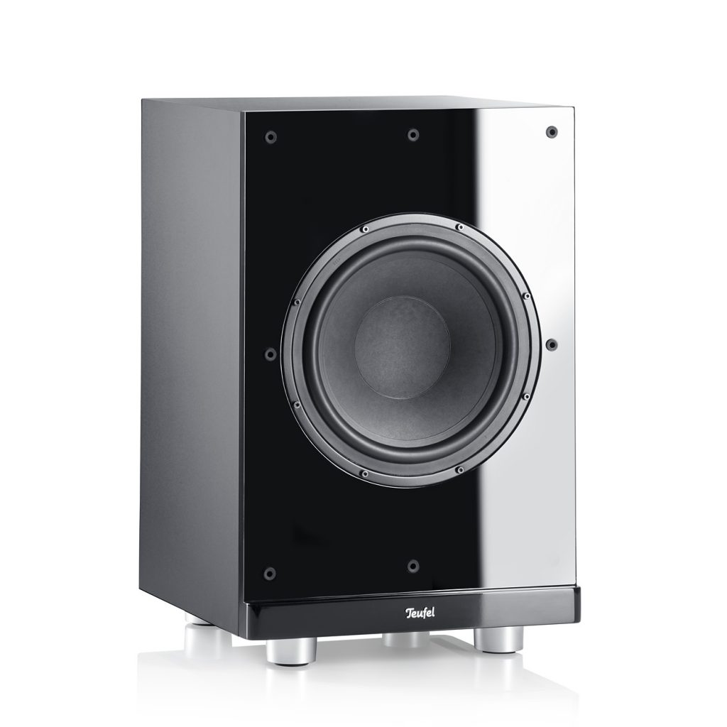 A front-firing subwoofer from Teufel