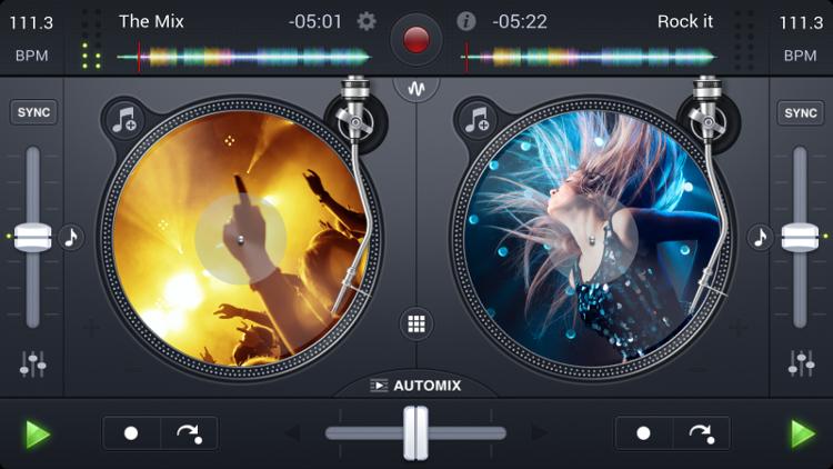 DJ-App Djay 2