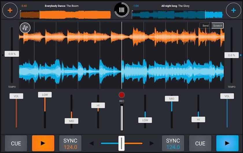 DJ-App Cross DJ Pro