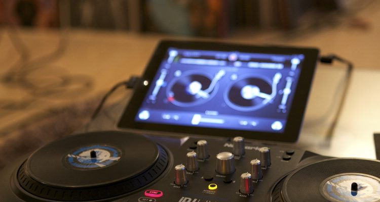 DJ App - Tablet statt Turntable