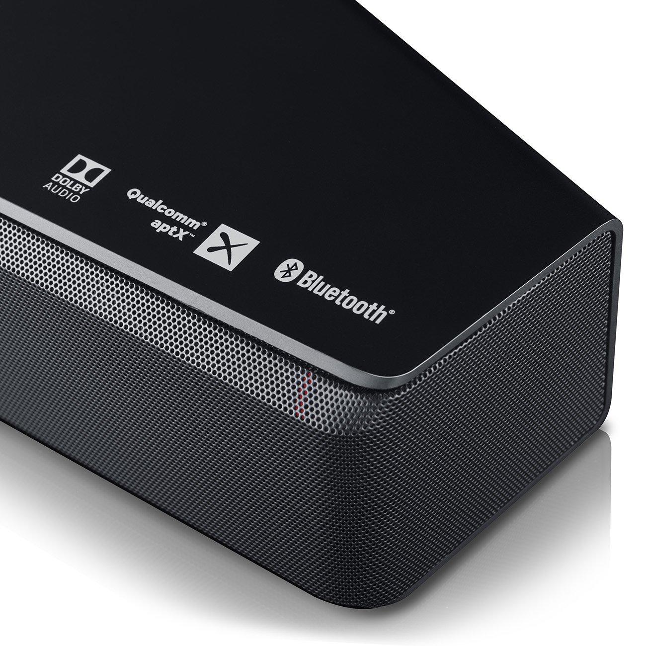 Die Cinebar unterstützt 5.1 Sound über Netflix