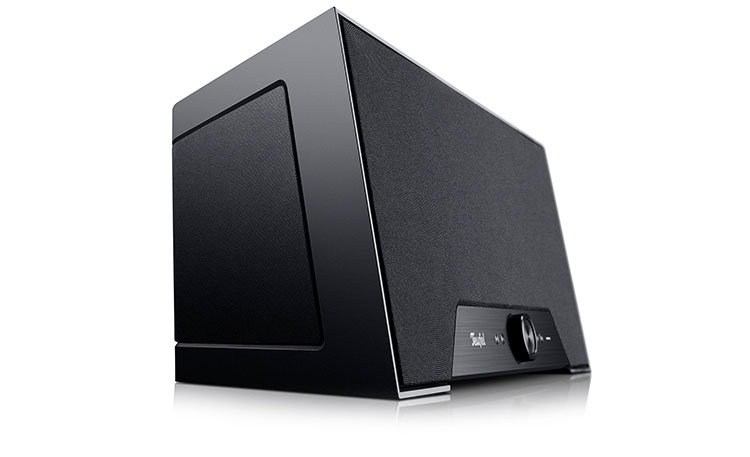 one m teufel streaming speaker