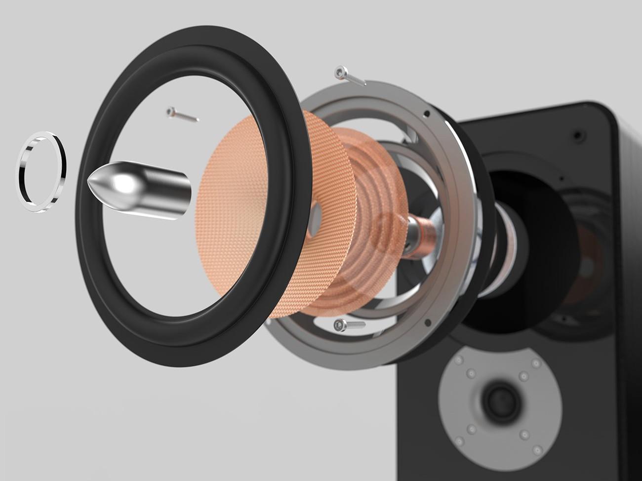 Leistungstarker Lautsprecher mit starker Watt Leistung
