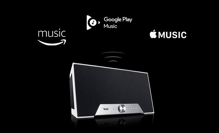 Bluetooth wireless speaker google music apple music