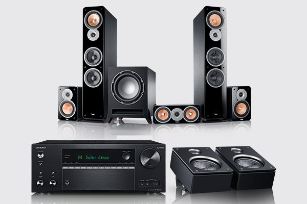 Ultima 40 Surround als Dolby Atmos Komplettsystem