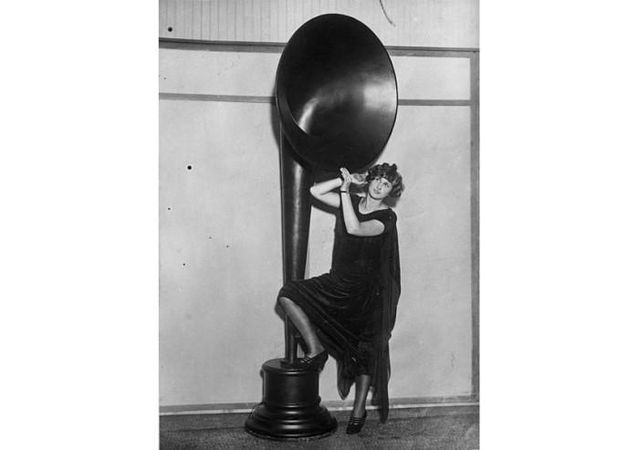 Hornlautsprecher als Standlautsprecher IFA 1929
