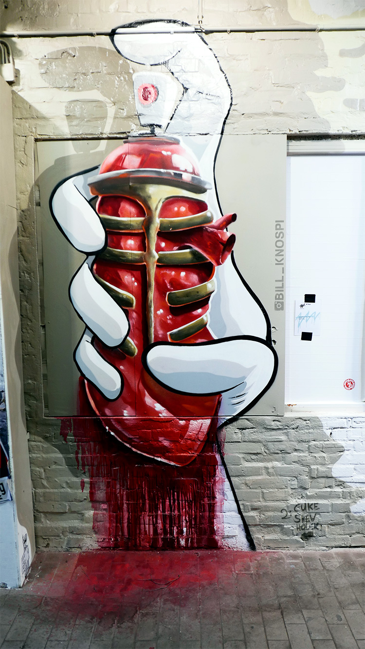 Wandelism Streetart, supported by Teufel Audio