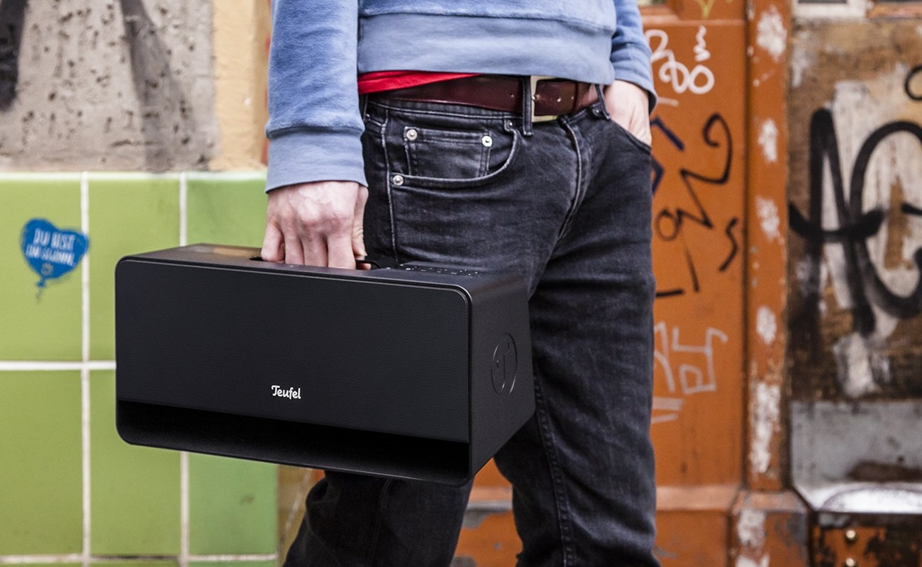 Teufel Boomster portable Bluetooth speakers
