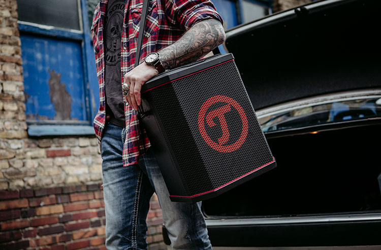 portable bluetooth speaker Teufel Rockster Air
