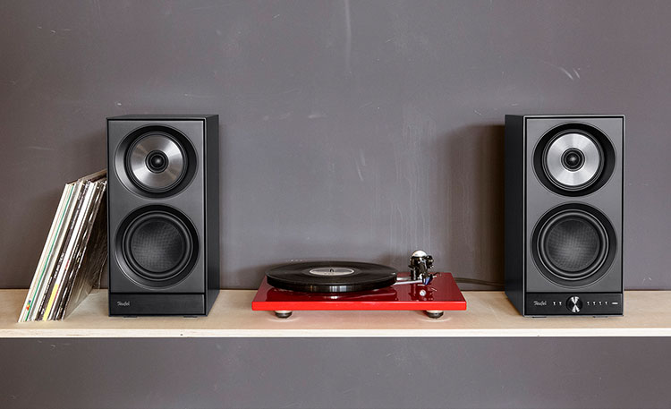 wi-fi speakers with record player