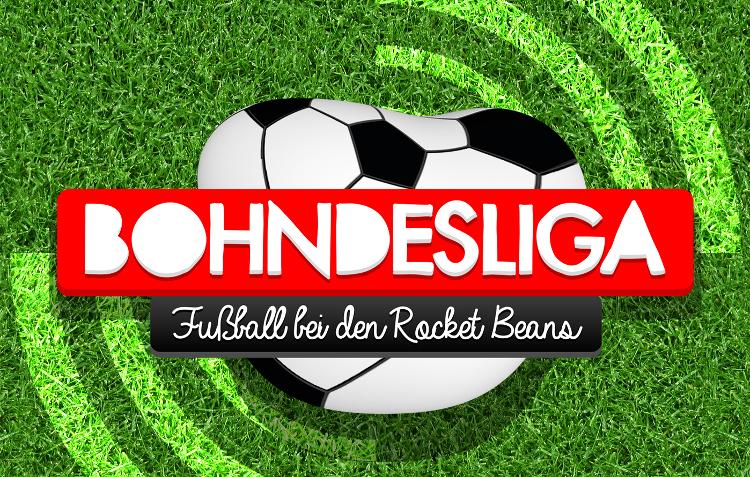 Ein platter Ball vor grünem Hintergrund ist das Logo des Podcasts Bohndesliga