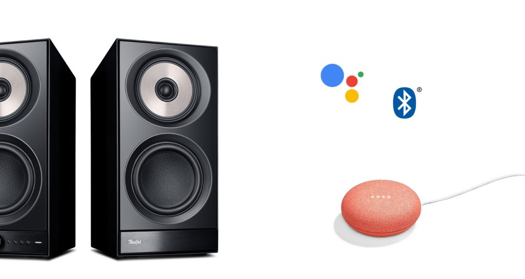 Google Home Mini met Stereo M