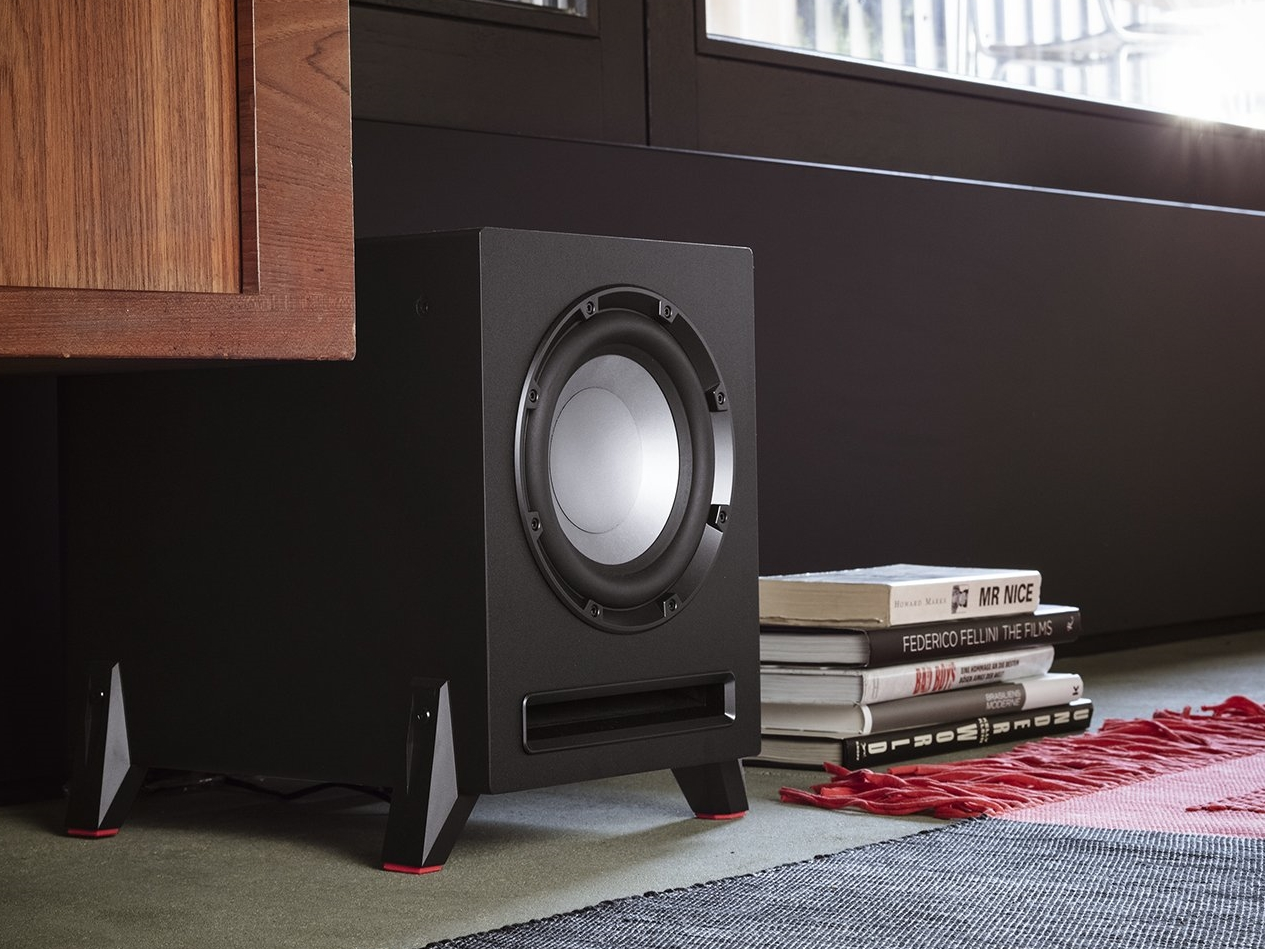 Subwoofer passend zum Regallautsprecher Teufel Kombo 42 BT Power Edition