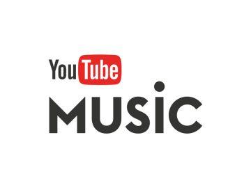 Logo von YouTube Music mit bekanntem YouTube Schrifttug