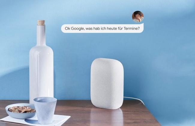 Google Nest Audio in Aktion