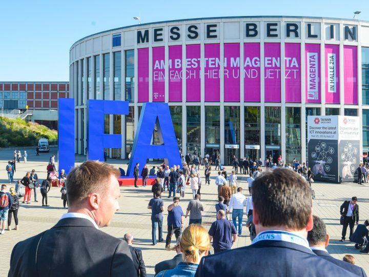 Das Messegebäude und -Gelände der IFA in Berlin.